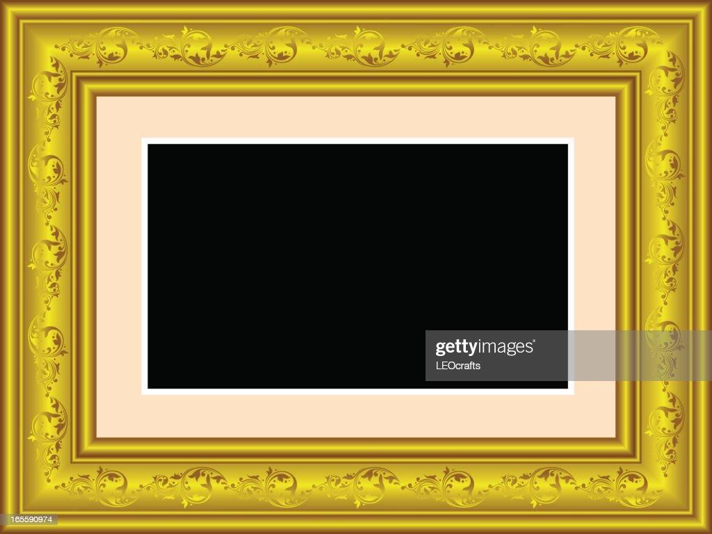 Beautiful Golden Frame.
