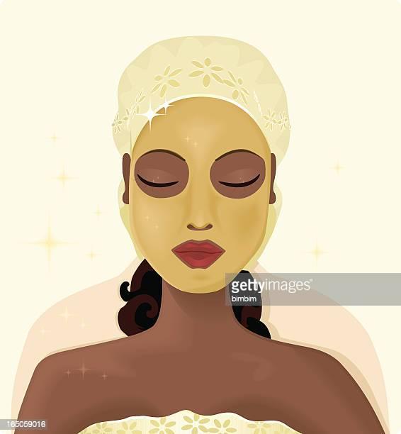 Schönheit-Maske