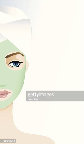 Beauty regime - facial mask
