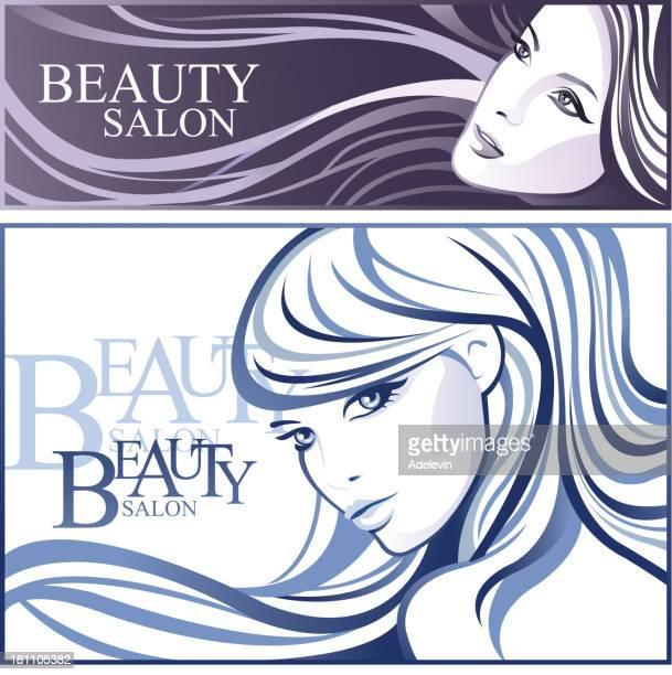 Beauty salon Mädchen
