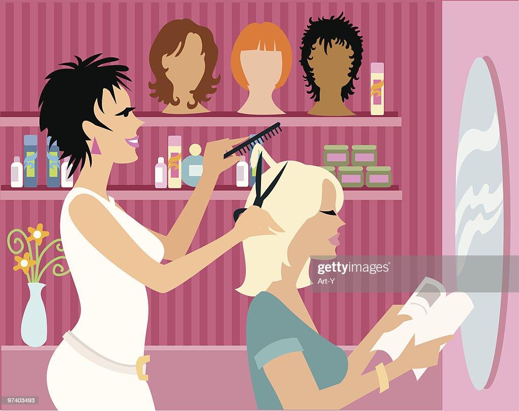 Beauty Salon : Vector Art