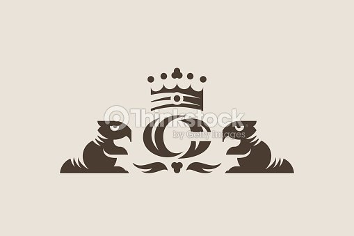 Beaver Vintage Emblem Design Template Stock Vector Thinkstock
