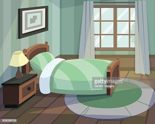 Bedroom Stock Illustrations And Cartoons Getty Images