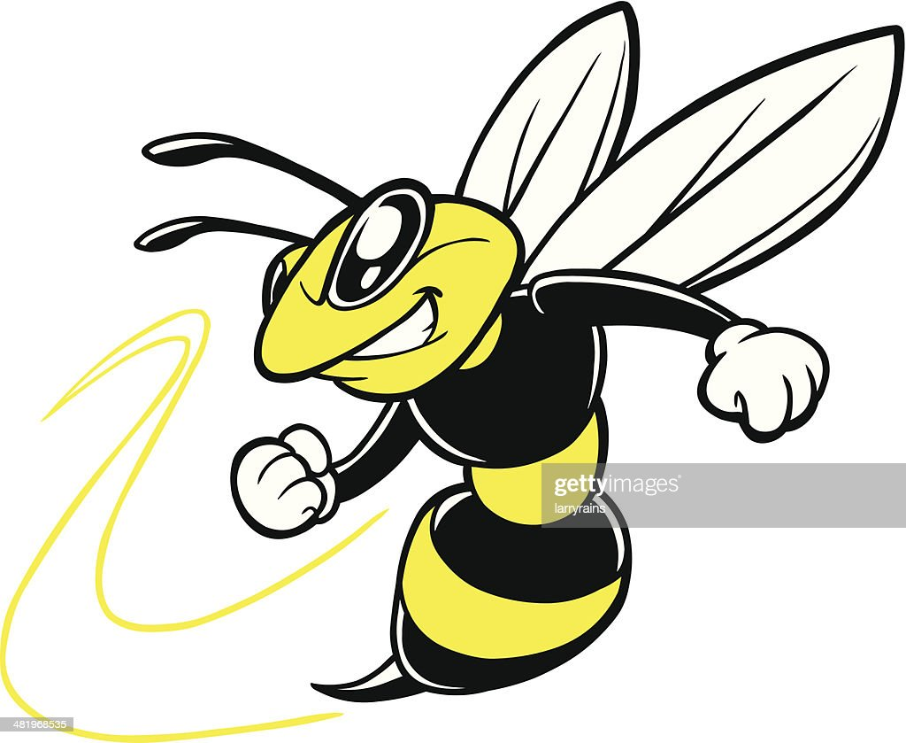 bee team mascot vector art getty images