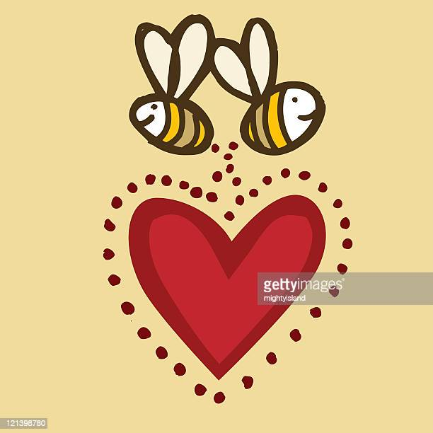 Bees in Love
