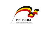 Belgium, country, flag, vector, icon