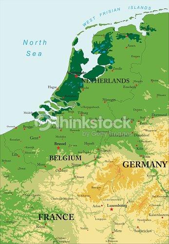 Benelux relief map vector art thinkstock benelux relief map vector art gumiabroncs Choice Image