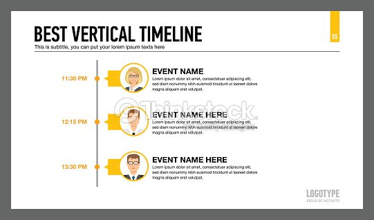 best vertical timeline template 2 vector art thinkstock
