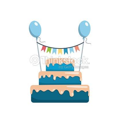 Big Cake Happy Birthday