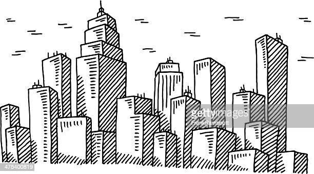 Stadt Skyline Abbildung