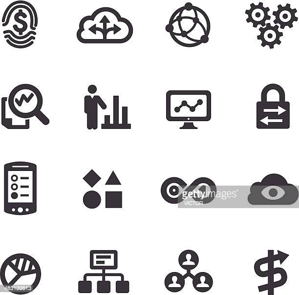 Big Data Icons - Acme Series