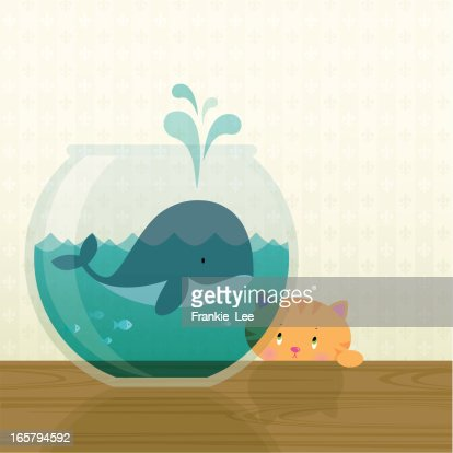 Big fish in a small pond vector art getty images for Be a big fish in a small pond