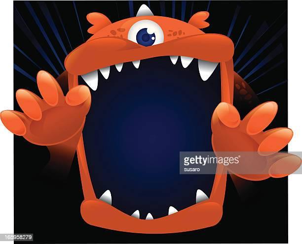 Big Monster Face