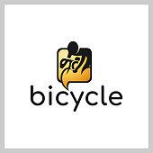 Bike Talk logo vector
