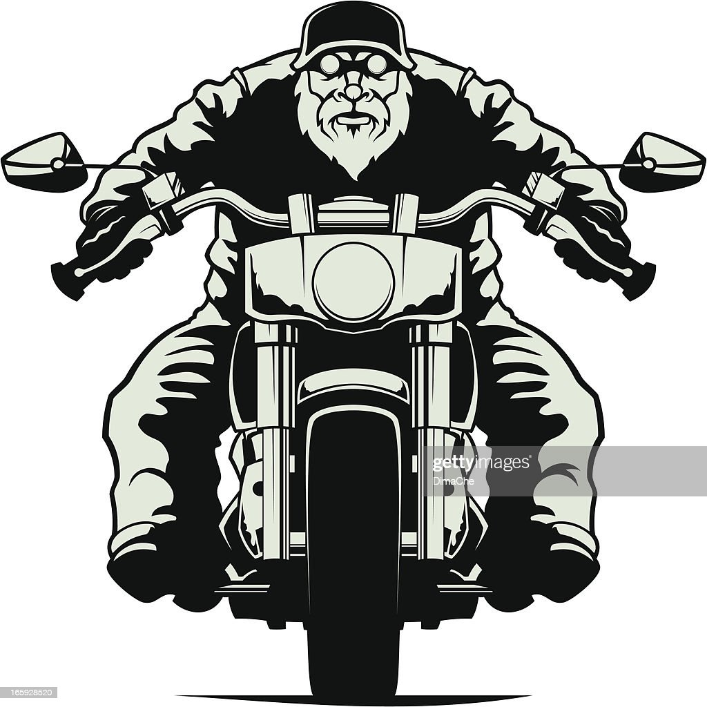 Biker Vector Art | Getty Images