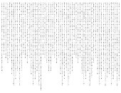 binary code zero one matrix white background beautiful banner wallpaper