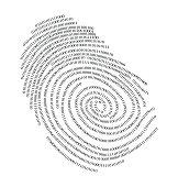 Binary finger print