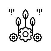 Icon for biomechanic, bioscience,  biomechanical, medical