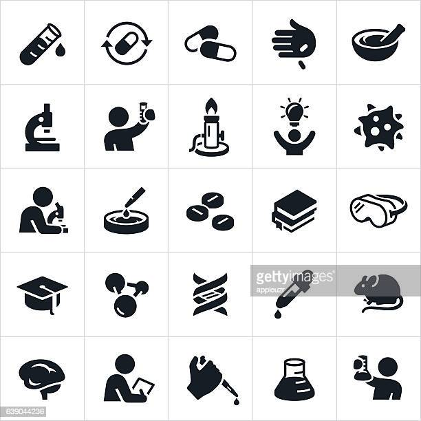 Biomedical Science and Laboratory Icons