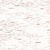 Hand drawn birch bark seamless texture.