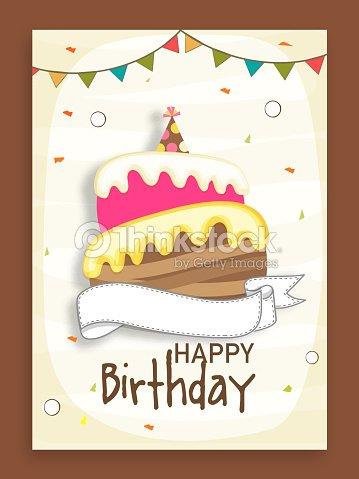 Birthday Party Celebration Invitation Card Design