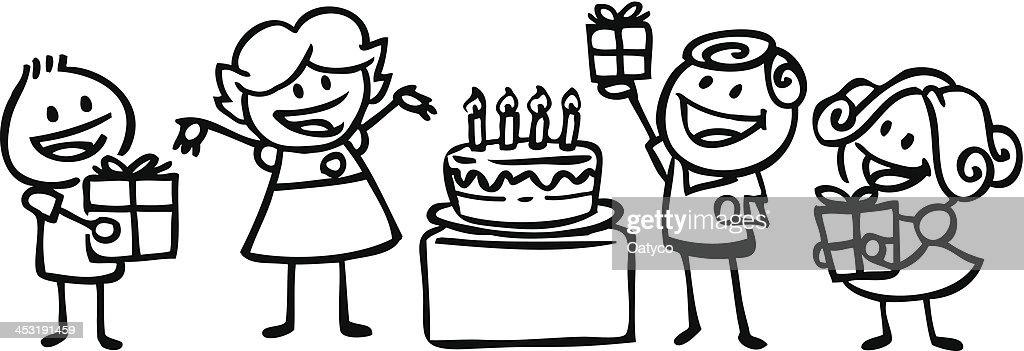 Birthday Party Vector Art Thinkstock