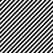Black and white diagonal stripe pattern
