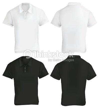 Black and white polo shirt template vector art thinkstock black and white polo shirt template vector art maxwellsz