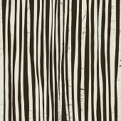 Black and white stripes with grunge texture. Vector striped background.