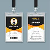 Creative identity card design