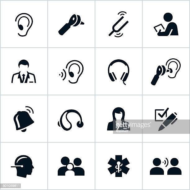 Black Audiology Icons