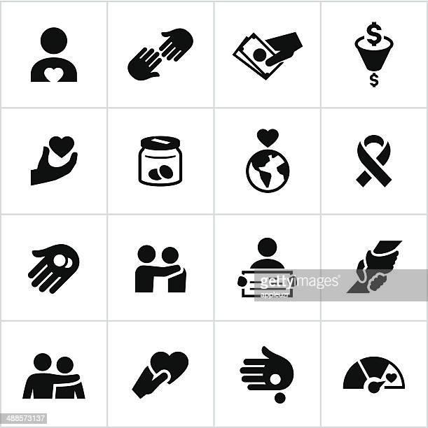 Iconos negros de caridad