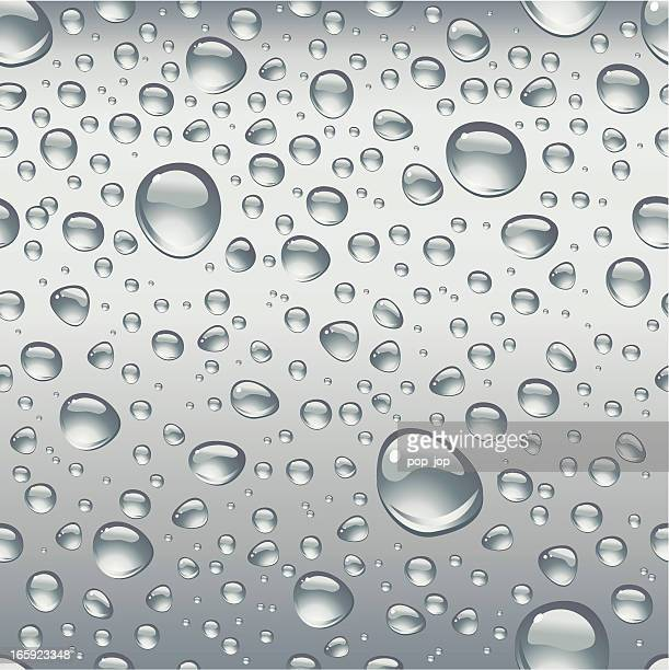 Black drops seamless background