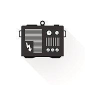 black generator modern style