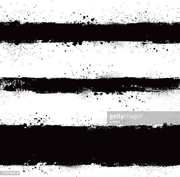 black grunge vector strokes