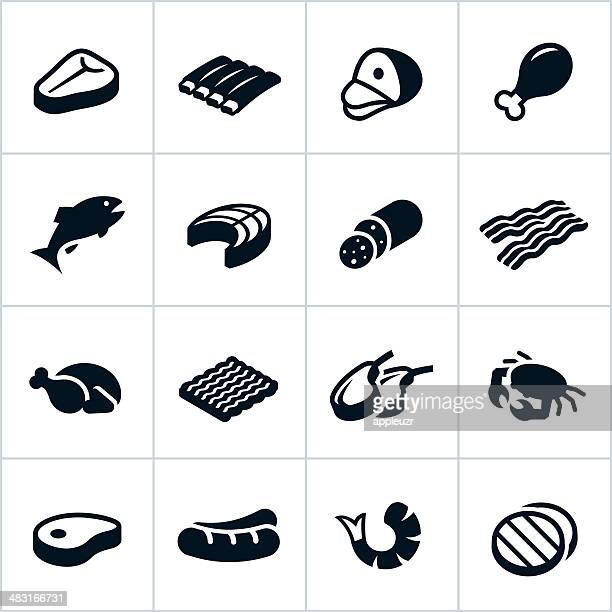 Black Meat Icons