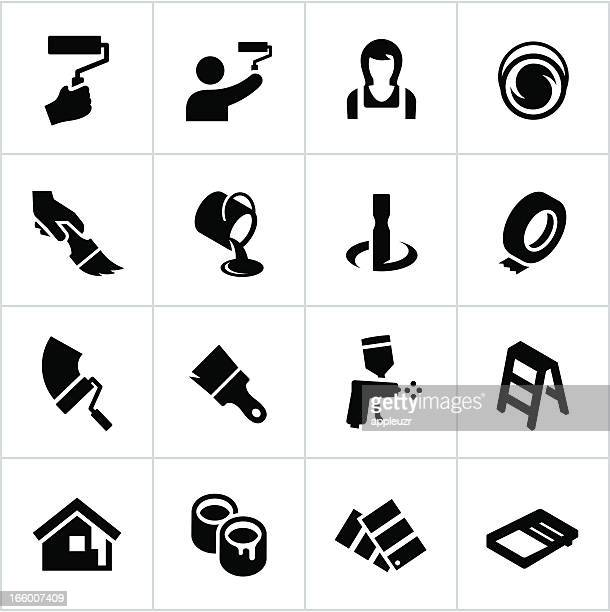Black Painting Icons