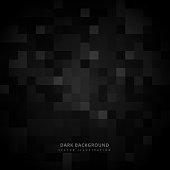 black square mosaic background