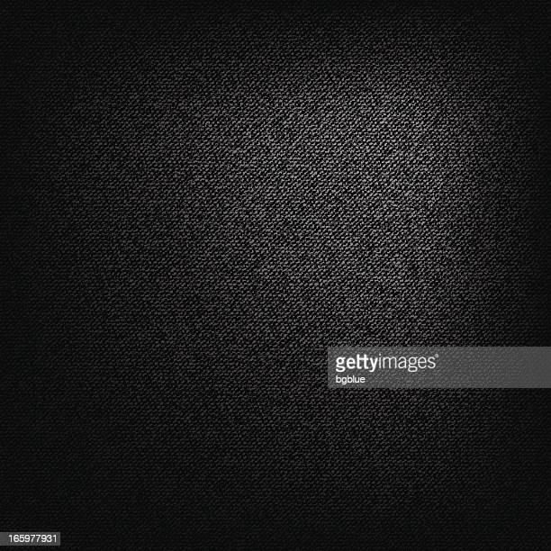 Black static canvas textured background