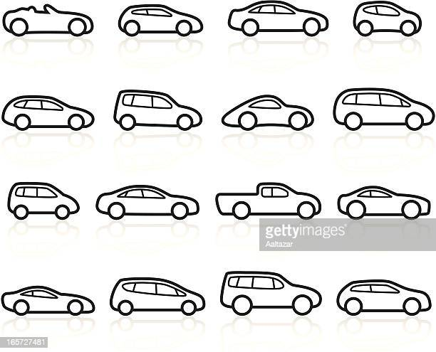 hot rod silhouette stock illustrations and cartoons