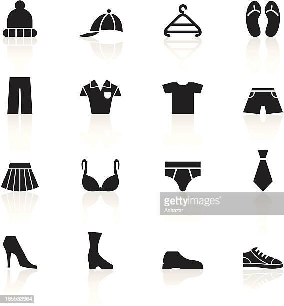 Negro símbolos de disfraz