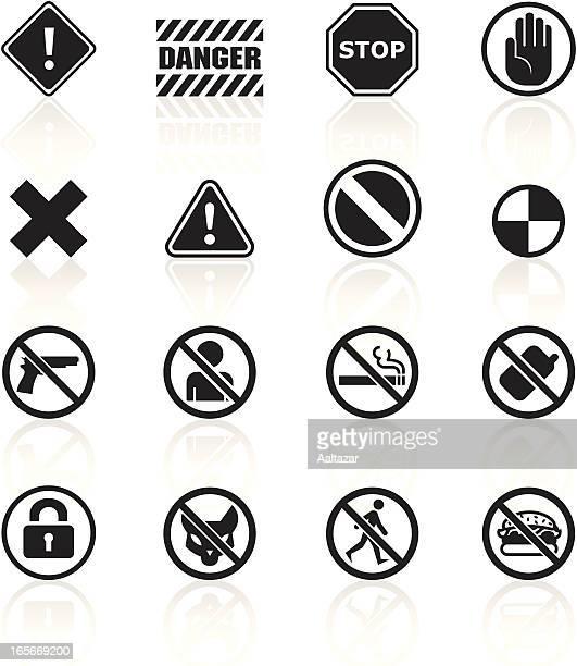 Restricciones de símbolos, negro