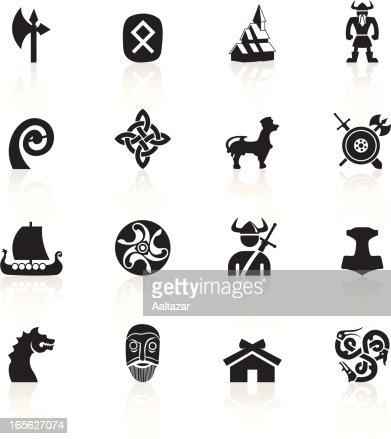 noir symbolesvikings clipart vectoriel getty images. Black Bedroom Furniture Sets. Home Design Ideas