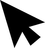 This is an illustration of the mouse pointer.