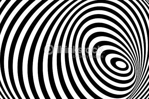 e872388fc1 Negro 3d blanco línea ilusión de distorsión   arte vectorial