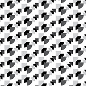 black white and silver triangle group diagonal striped pattern background vector illustration image