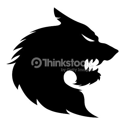 18c7eface Black Wolf Sign stock vector - Thinkstock
