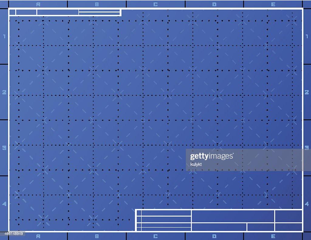 Blank Blueprint Paper For Drafting Vector Art Thinkstock