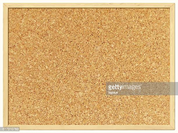 Blank Cork Board - Cork Background