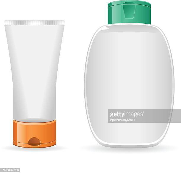 Blank Lotion Bottles